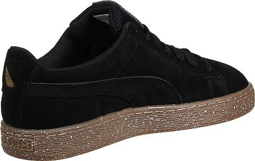 puma basket negro