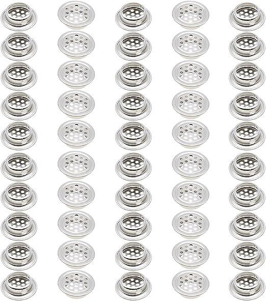 Grille da/ération Grille da/ération en acier inoxydable Grille da/ération pour placard Grille da/ération ronde Grille da/ération pour armoire de cuisine Grille da/ération en acier inoxydable 25mm