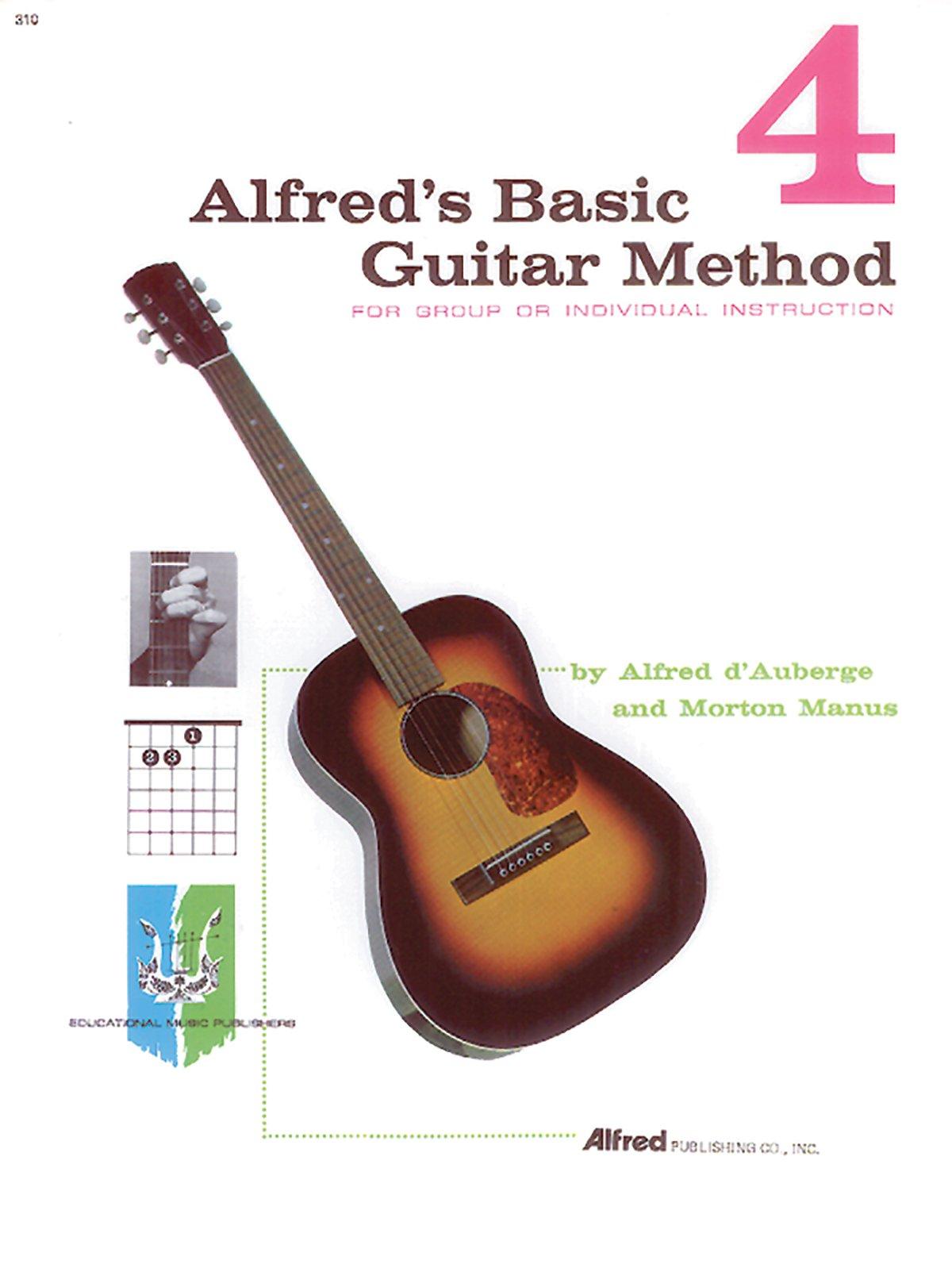 Alfreds Basic Guitar Method Book 4 Alfred Dauberge Morton Manus