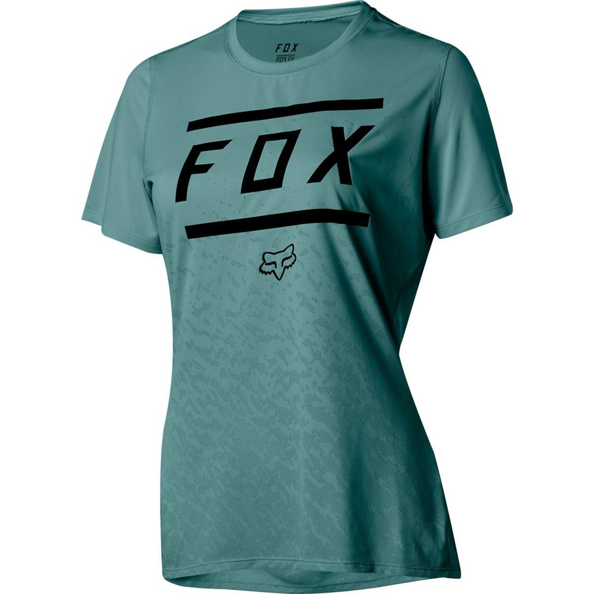 a6e43db3f Amazon.com   Fox Racing Ripley Short-Sleeve Jersey - Women s Bars Pine