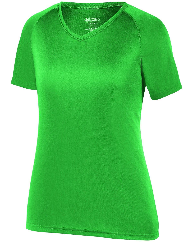 Augusta SportswearレディースAttain Wickingシャツ B073GHNP55ケリー XXX-Large
