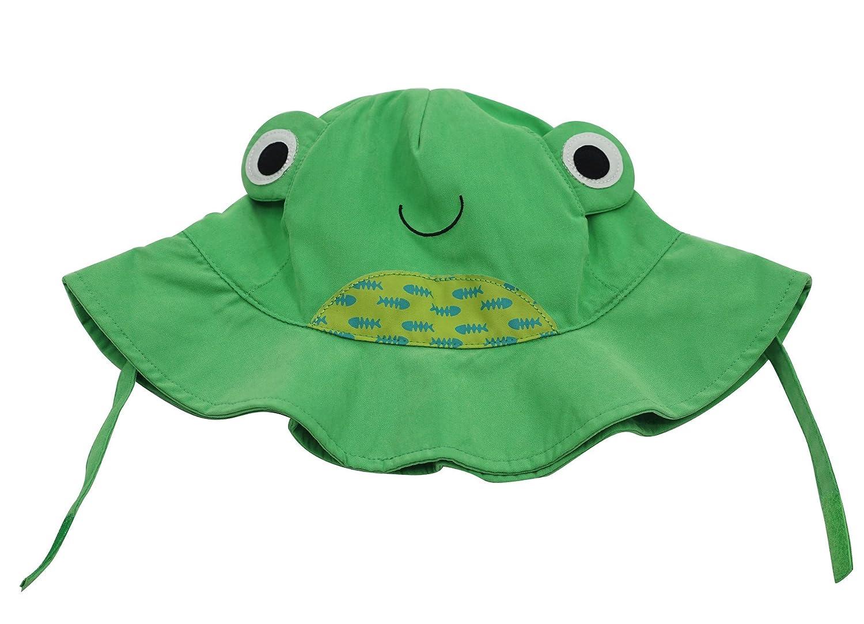 Connectyle Baby Toddler Kids Cute Wide Brim Sun Hat Cartoon Sun Protection Hat