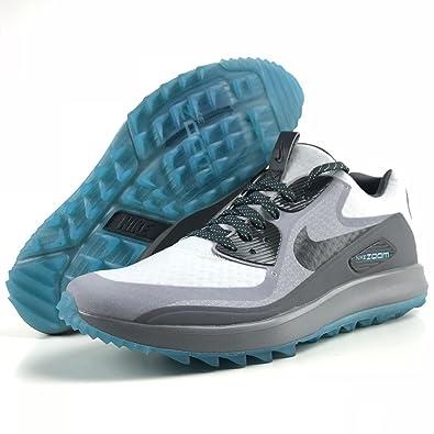 d1d1a9e908a4 Nike Air Zoom 90 IT Golf Shoes 844569-004 - Platinum Anthracite Grey - 10  (D) US - Medium (10