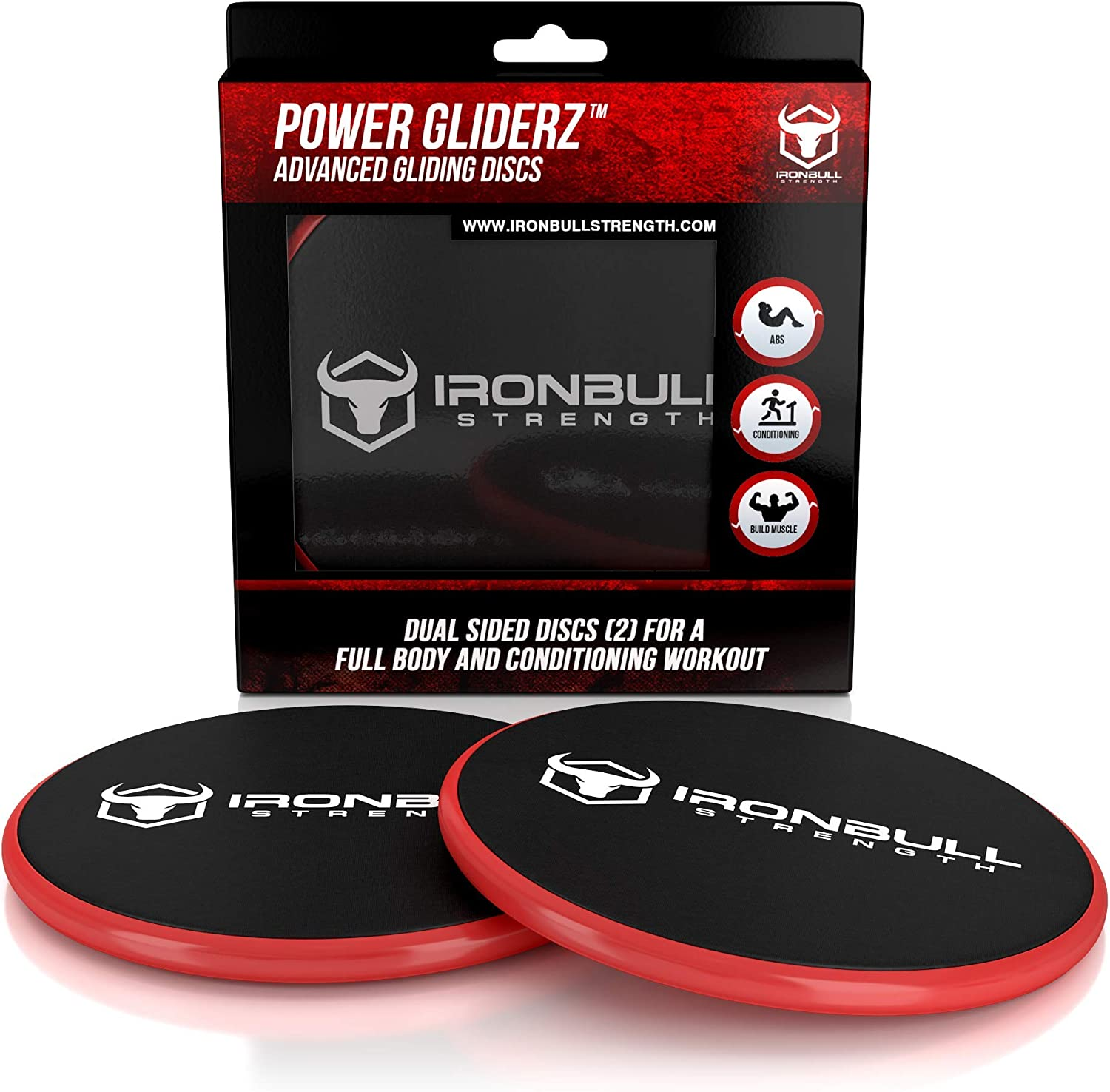 Dual Sided Exercise Discs for Smooth Sliding On Carpet and Hardwood Floors Abs at Home or Gym or Travel Gliding Discs Core Sliders Fitness Equipment Sliding Discs Workout Legs Arms Back