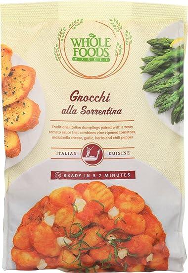Whole Foods Market Gnocchi All Sorrentina 16 Oz Frozen Amazon