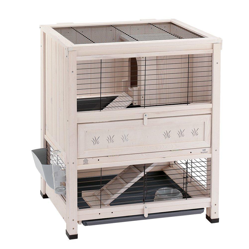 Ferplast Cottage Mini Rabbit hutch 78.5 x 59.5 x 94 cm