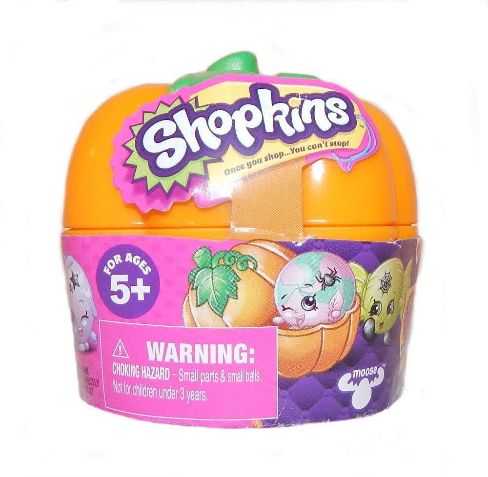 Limited Edition Shopkins Halloween Pumpkin 2-Pack Toy 8