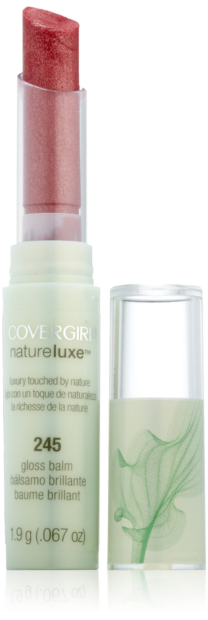 Covergirl Natureluxe Gloss Balm Pinot 245, 0.067-Ounce (Pack of 2)