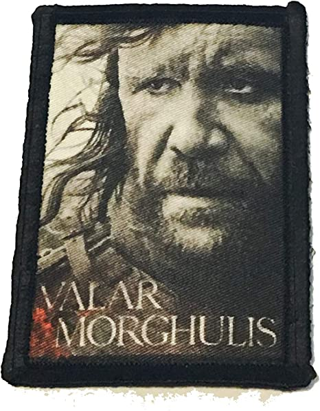 Distressed Game of Thrones House Stark Sigil Morale Patch Military Tactical 2x3 Hook and Loop Made in The USA