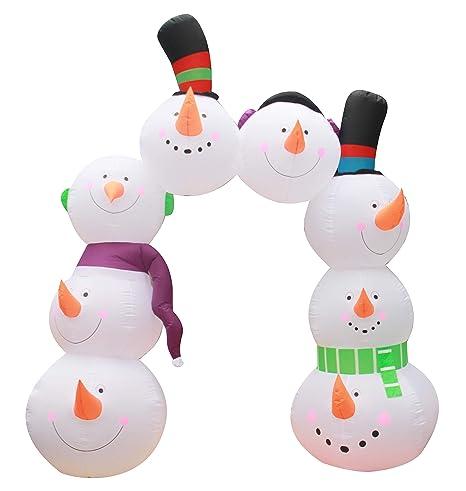 inslife - Arco Hinchable de Nieve para decoración de ...