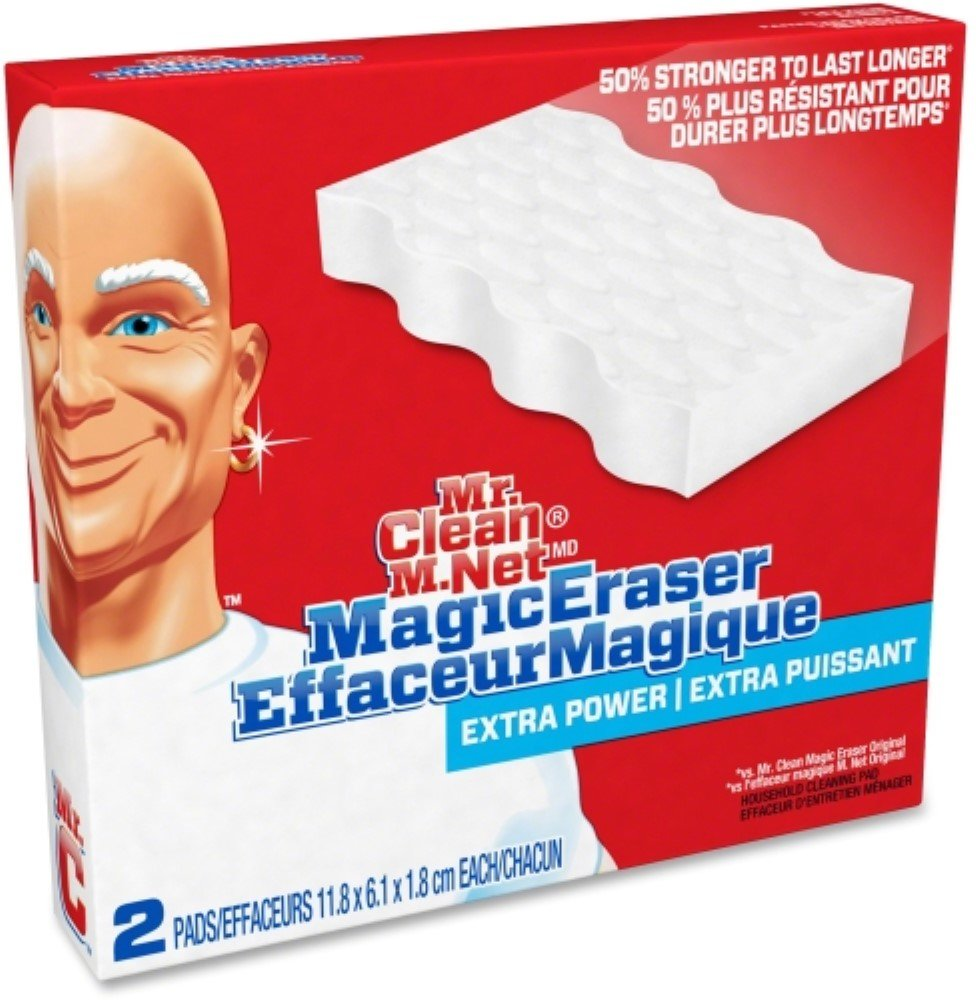 Mr. Clean Extra Power Magic Eraser, 2 ea (Pack of 3)