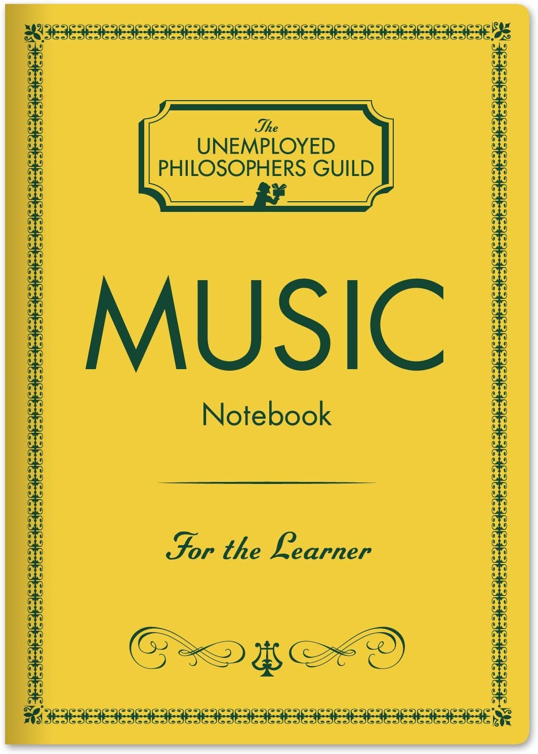 7 x 4.75 Music Composer Notebook with Sheet Music Pages
