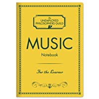 "Music Composer Notebook with Sheet Music Pages - 7"" x 4.75"""