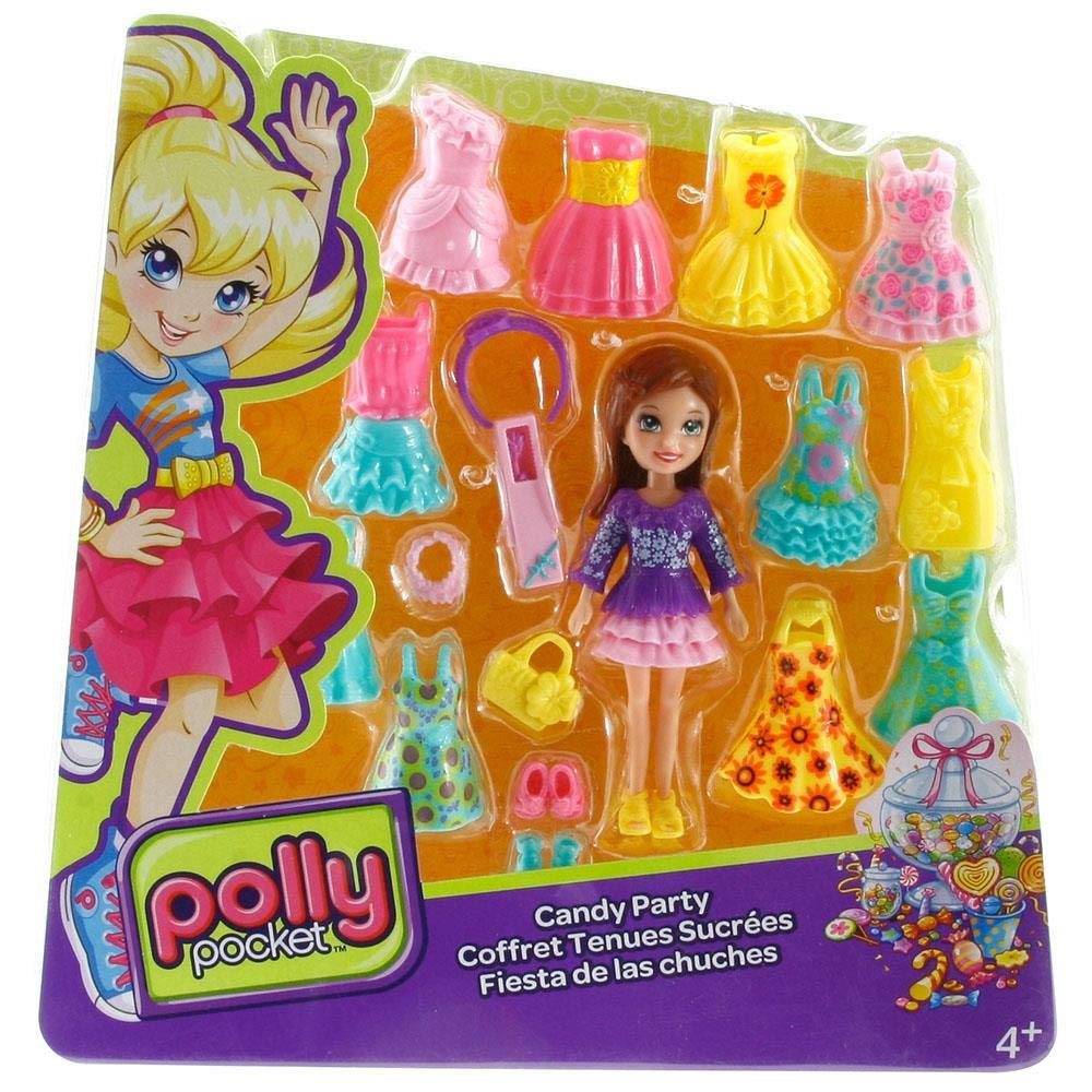 Amazon.com: Polly Pocket Fashion Collection – 1 muñeca con ...