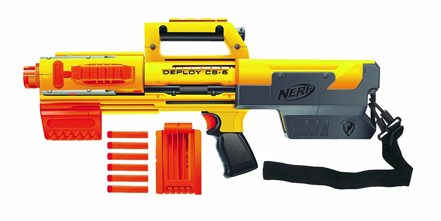 Nerf Recon, image from  http://cdn.instructables.com/FFE/7TV3/H1JUH1RT/FFE7TV3H1JUH1RT.MEDIUM.jpg
