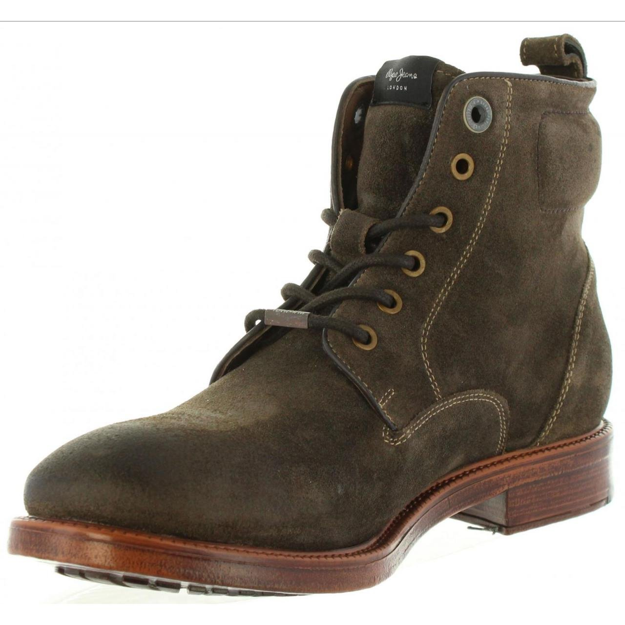 watch d1882 a509c PEPE JEANS Men Boots PMS50148 Barun 884 Stag Size 43: Amazon ...