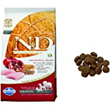 Farmina N&D Low Grain Chicken and Pomegranate Adult Food, 2.5 kg (Medium)