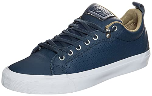 newest f5c23 711c7 Converse Unisex Chuck Taylor All Star Fulton Car Leather Navy White Sneaker  - 5.5 Men