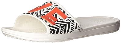 Drew x Crocs Sloane Chevron Slide Crocs kl7I3Hn