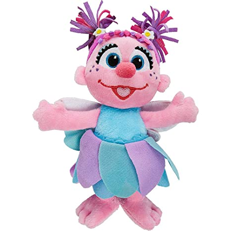 Hasbro Sesame Street Abby Cadabby Soft Plush Doll 7 5 Inch Tall The Muppets