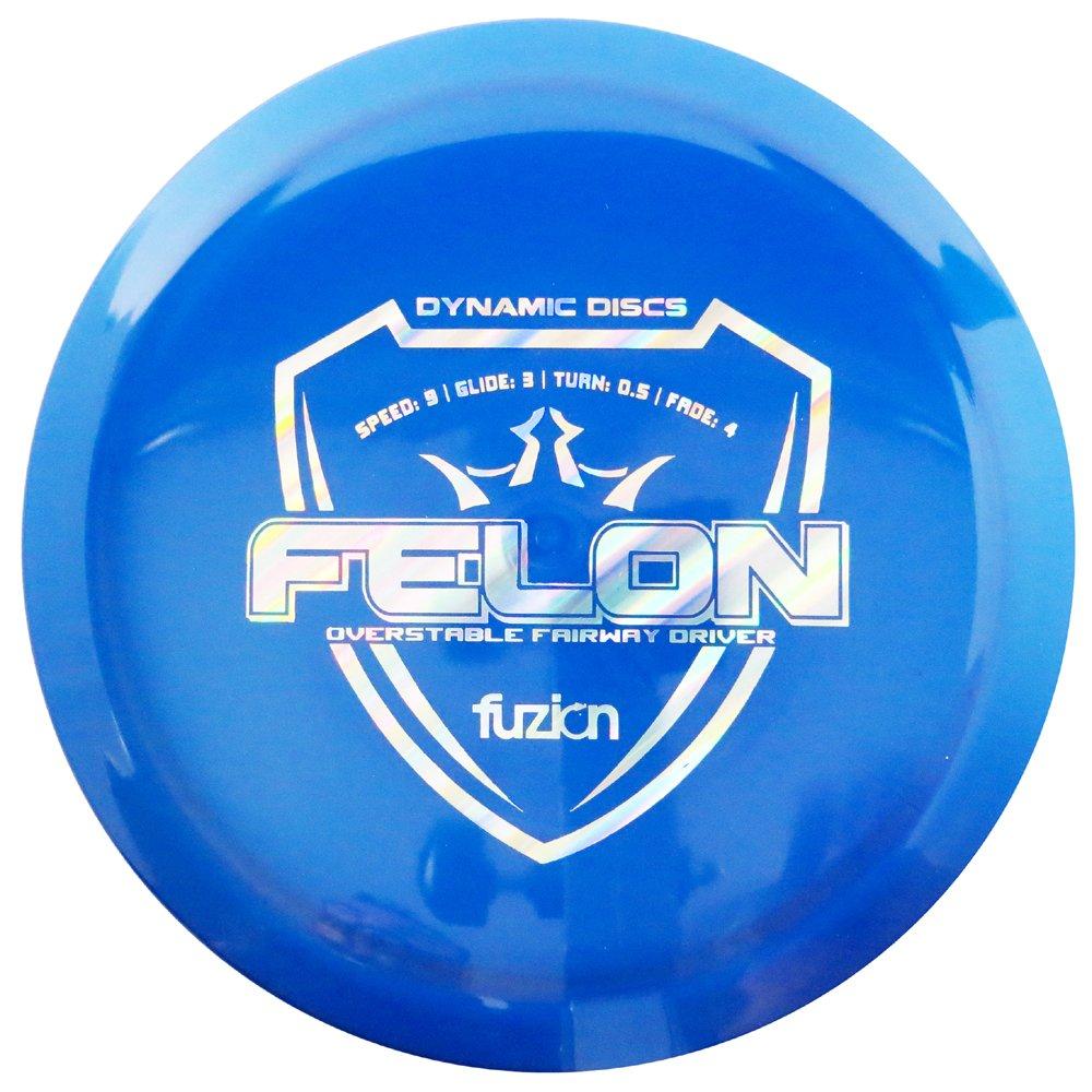 ダイナミックDiscs Fuzion Felonフェアウェイウッドドライバーゴルフディスク[ Colors May Vary ]  170-172g