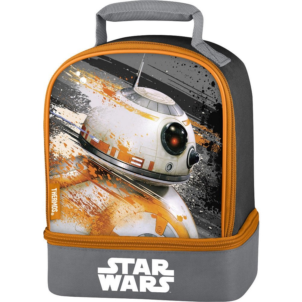 76e8f2aca5 Image Unavailable. Image not available for. Color  Disney Star Wars Episode  7 BB8 Dual Compartment Insulated Lunch Box