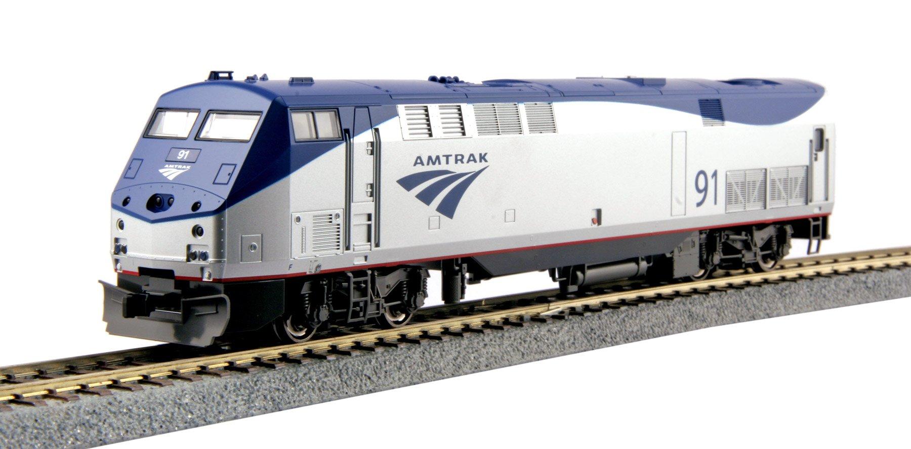 Kato USA Model Train Products HO GE P42 #91 ''Genesis'' Amtrak Phase VB Locomotive