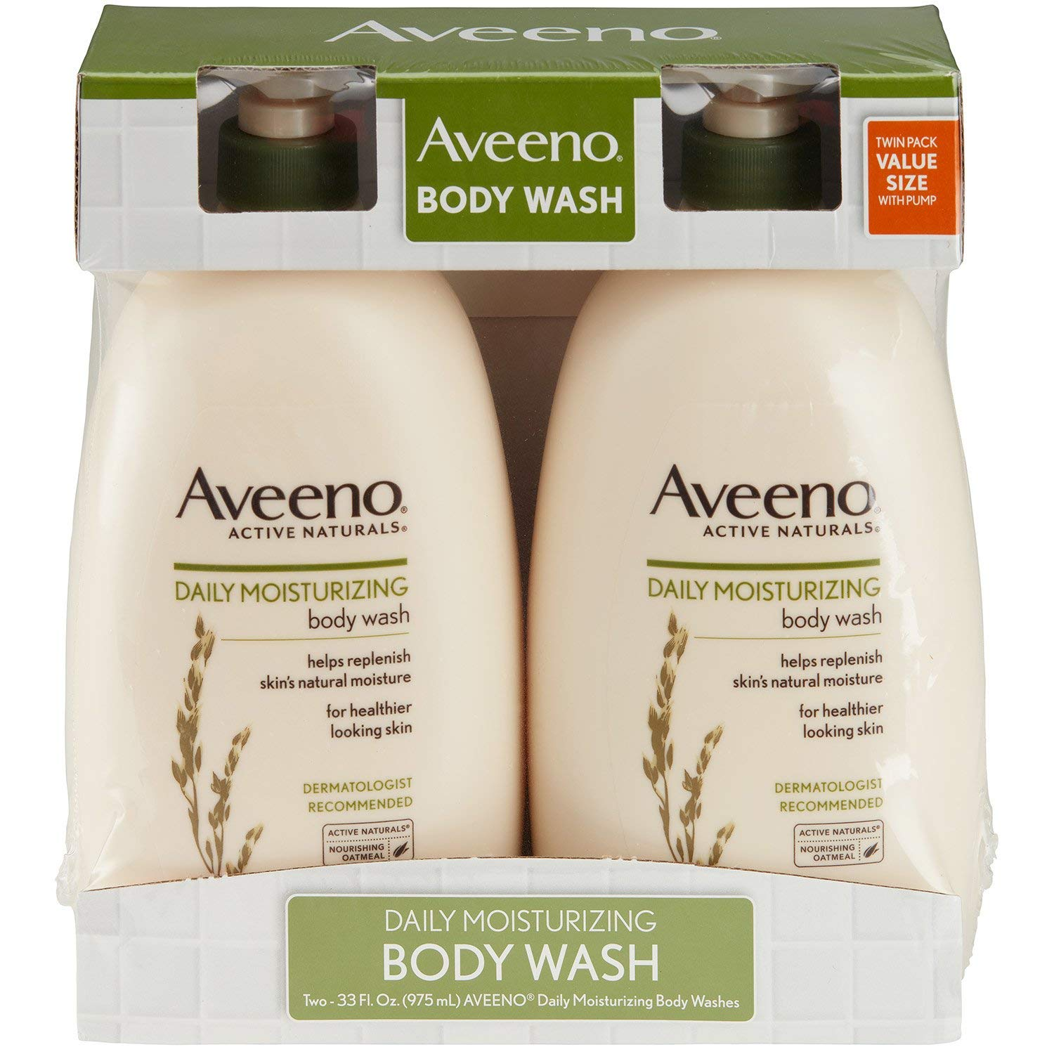 Product of Aveeno Daily Moisturizing Body Wash, 2 pk./33 fl. oz. - Body Wash & Cleansers [Bulk Savings]