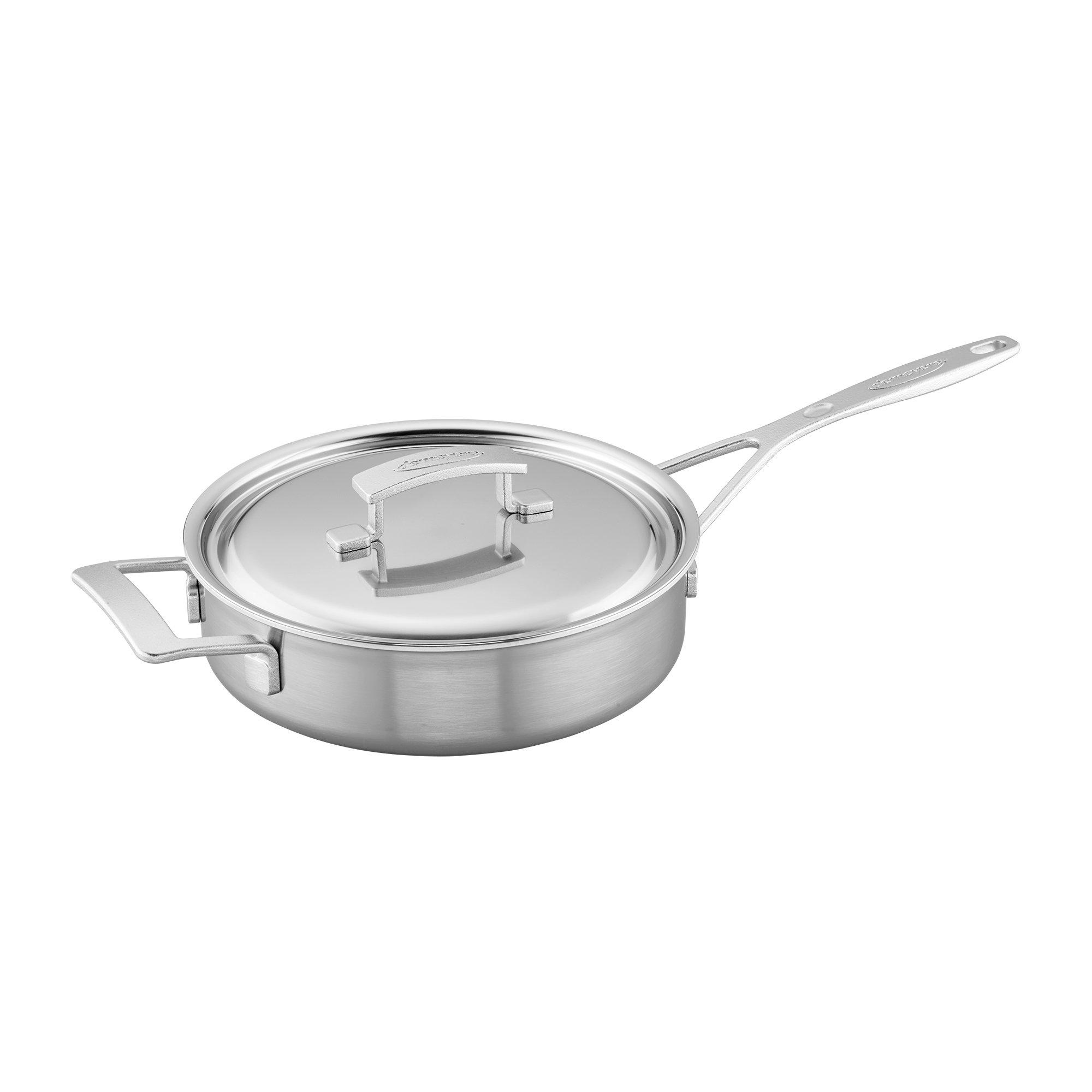 Demeyere Industry 5-Ply 3-qt Stainless Steel Saute Pan by Demeyere