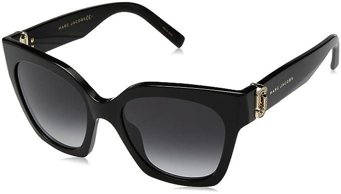 Marc Jacobs Marc 182/S/STR 9O 807 52 Gafas de sol, Negro ...