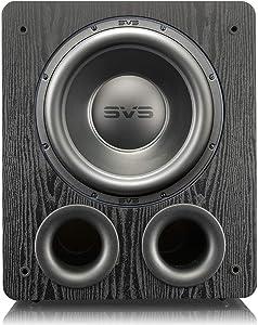 SVS PB-3000 Subwoofer - 13-inch Driver, 800W RMS, 2,500W Peak Power, DSP Control App - Premium Black Ash