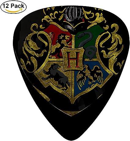 Harry Potter Hogwarts Póster Classic guitarra celuloide púas, 12 ...
