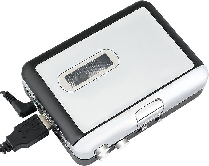 Incutex Reproductor y convertidor de casetes en MP3 SIN PC ...