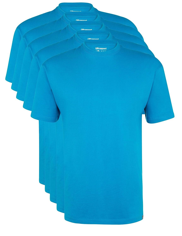 Ultrasport Mens T-Shirt V-Neck