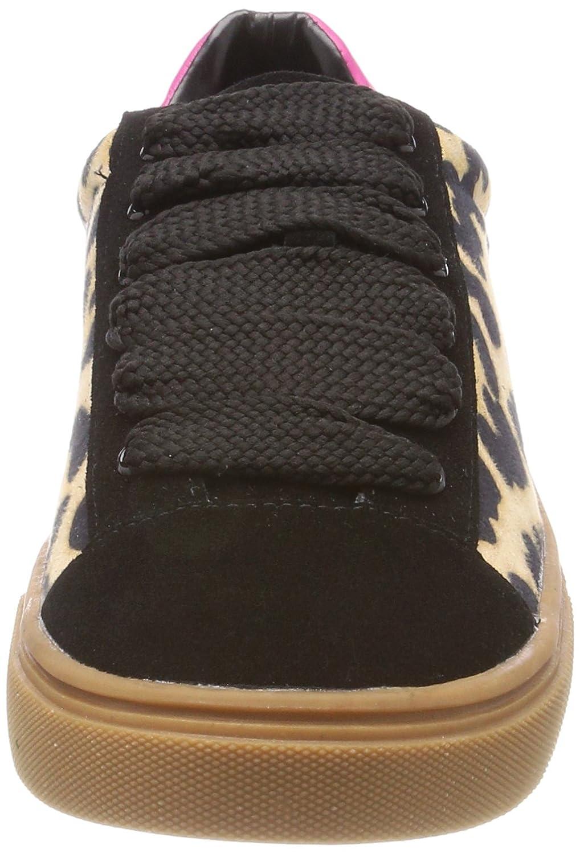 ESPRIT Damen Cubina Leo Schwarz Lu Sneaker Schwarz Leo (Black) 6acf4c