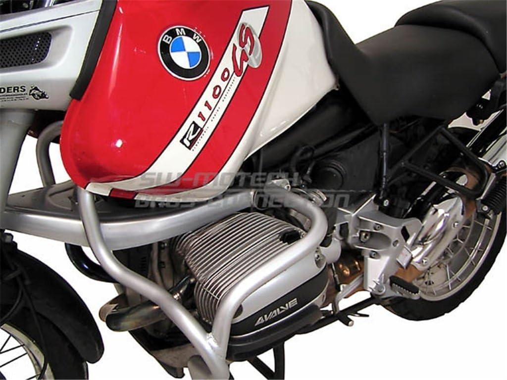 Silbern f/ür BMW R 1 GS SW-MOTECH Sturzb/ügel 94-99