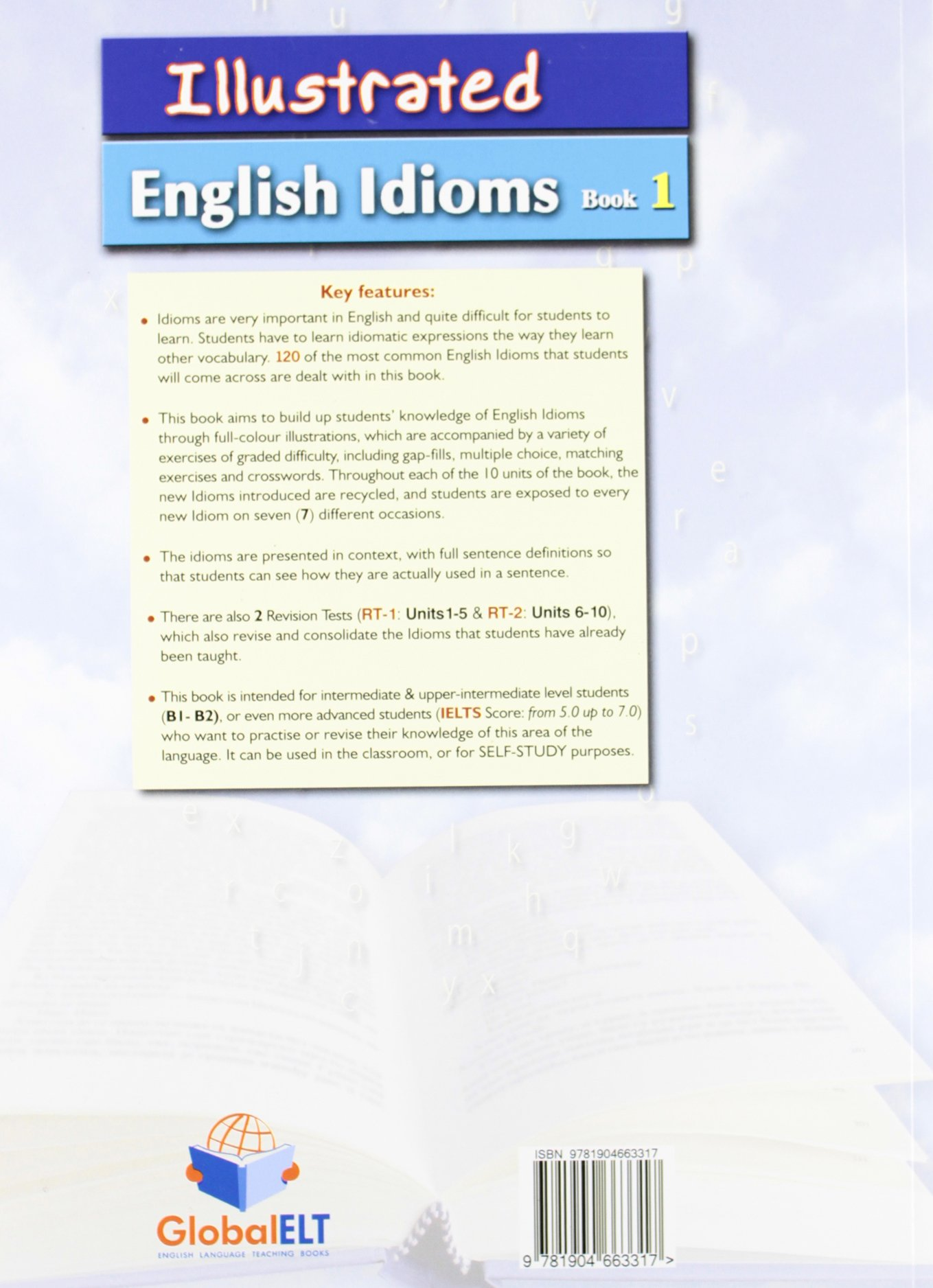 Illustrated Idioms B1 & B2 - Book 1 - Student's Book: Amazon co uk