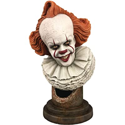 DIAMOND SELECT TOYS Legends in 3-Dimensions: It Chapter Two Pennywise 1: 2 Scale Bust, Multicolor, 10 inches: Toys & Games