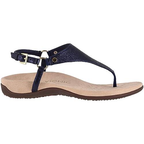 f2cb9f01fa3fe Vionic Kirra Womens Toe Post Sandals