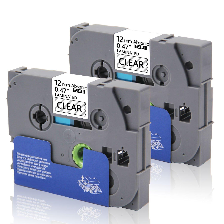 Compatible TZe-211 TZe211 TZ-211 Label Tape Replacement for Brother P-Touch PT-D200 PT-H100 PT-H110 PT-1880 PT-D600 Labeler - Black on White, 1/4 x 26.2', 6mm Width x 8m Length (3 Pack) 1/4 x 26.2' Ecolor Co. ltd