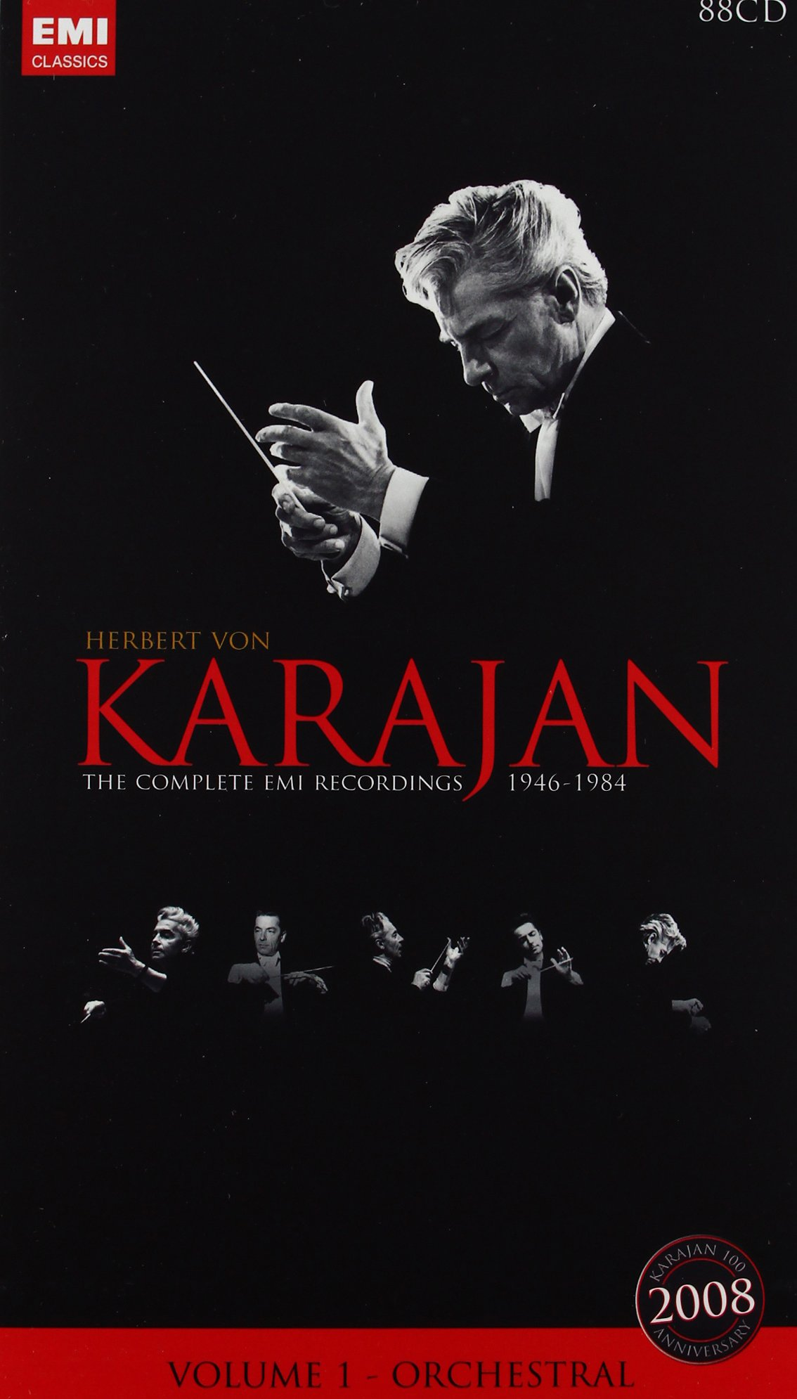 Herbert von Karajan - Complete EMI Recordings 1946-1984, Vol. 1: Orchestral by Warner Classics