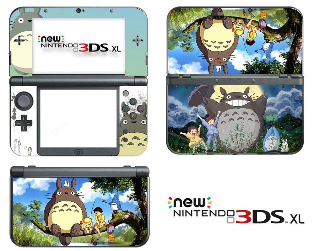 Nintendo 3ds Xl Skins Anime Satu Sticker