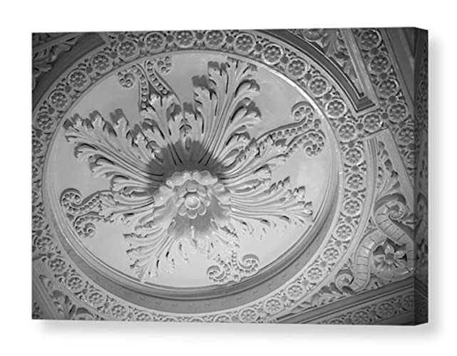 Amazon Com Ornate Ceiling Tile Canvas Print Seattle Wall
