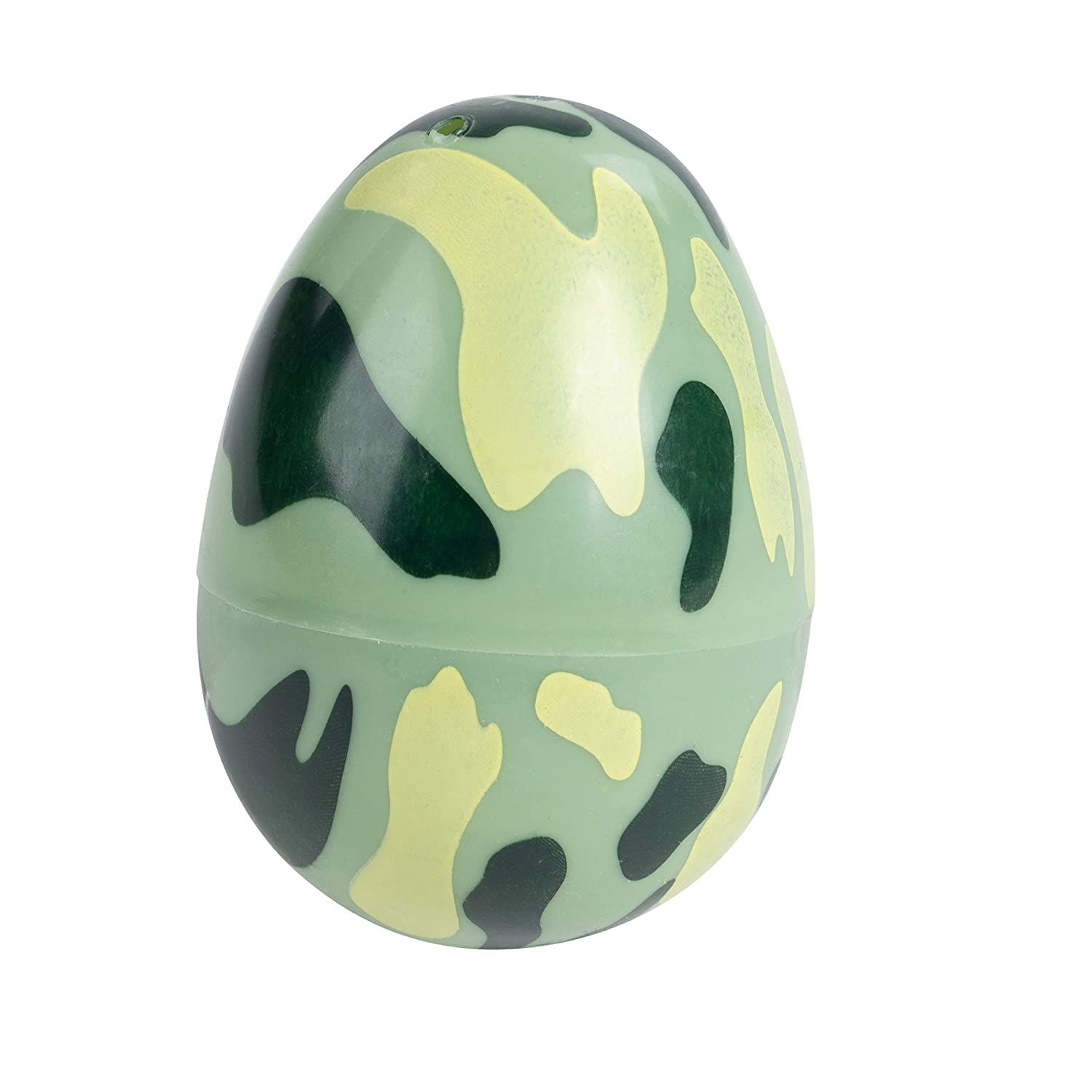 Juvale 48-Count Plastic Easter Eggs Camouflage Surprise Party Favor Eggs with Hinge Closure 1.6 x 2.3 x 1.6 Inches