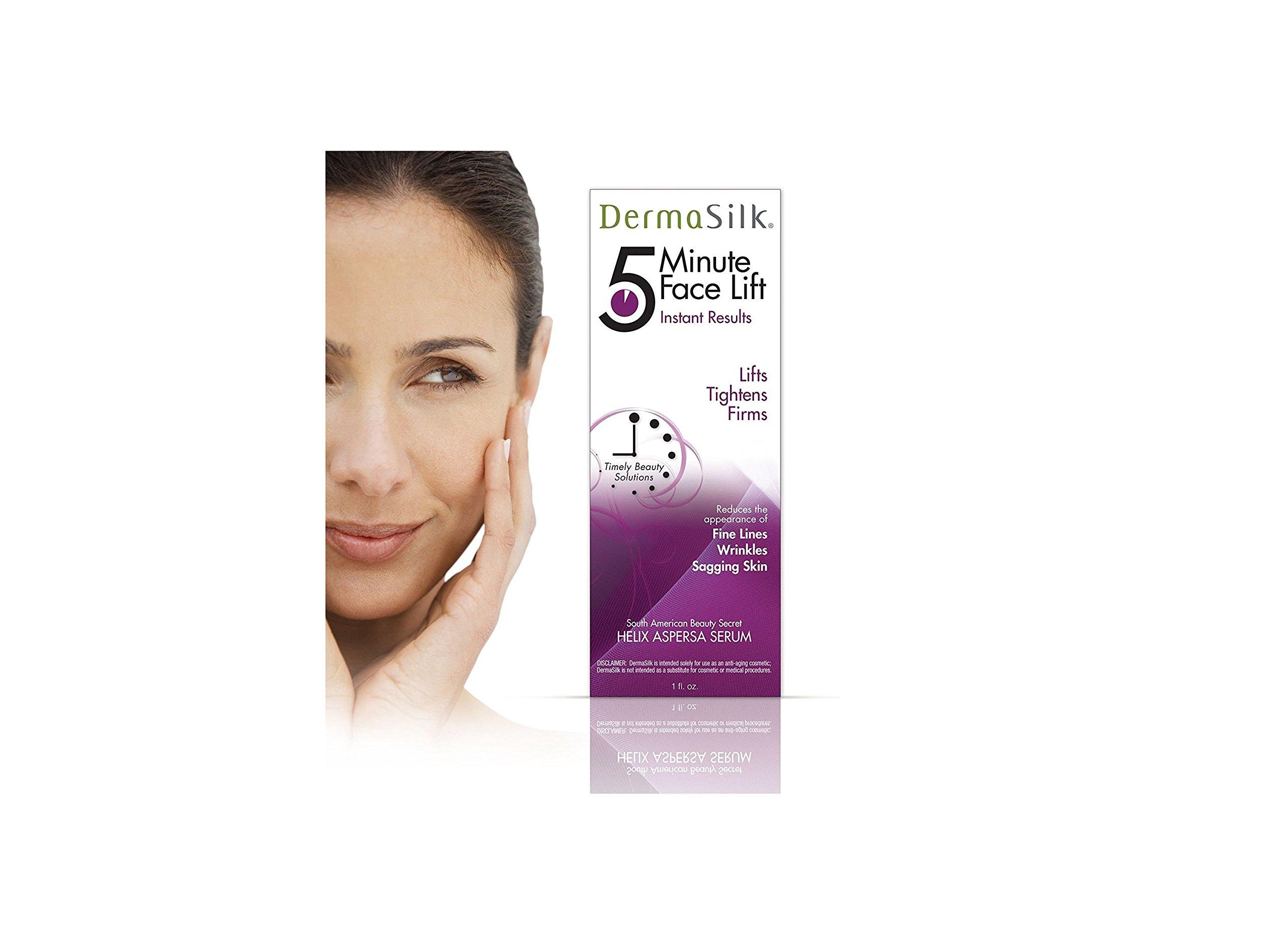 Amazon Dermasilk Anti Aging Skin Care Cream 5 Min Face Lift