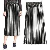 Oksale Baby Girl's Pleated Skirt Vintage High Waist Skirt Long Skirts Elegant Skirt