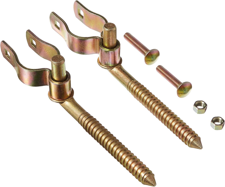 to 1-3//4 In Speeco 1-5//8 In Round Tube Gate Hinge Kit S16100800-GL161008-1