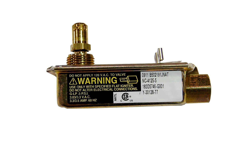 GE WB19K31 Valve Safety