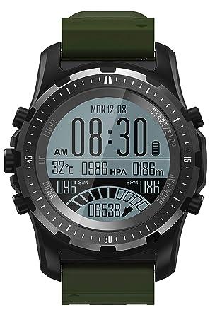 Amazon.com: Reloj inteligente GPS brújula monitor de ritmo ...