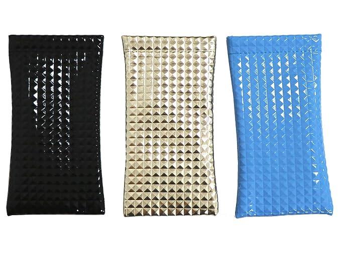 Amazon.com: Paquete de 3 fundas para gafas de sol, talla ...